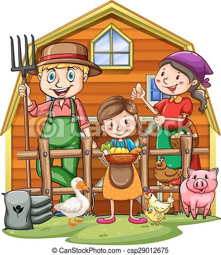 Farmers - csp29012675