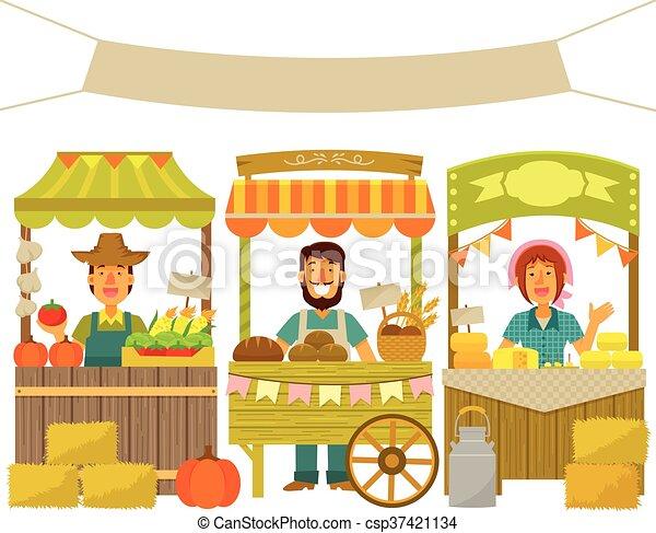 farmers market - csp37421134