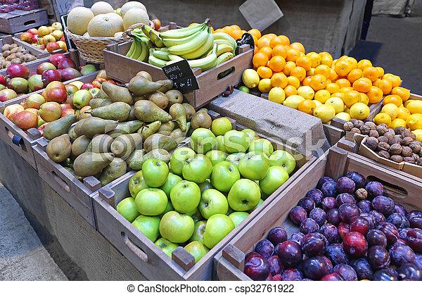 Farmers Market - csp32761922