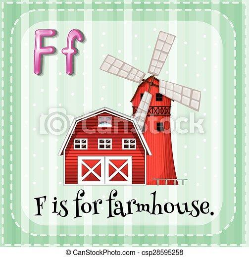 Farmhouse - csp28595258