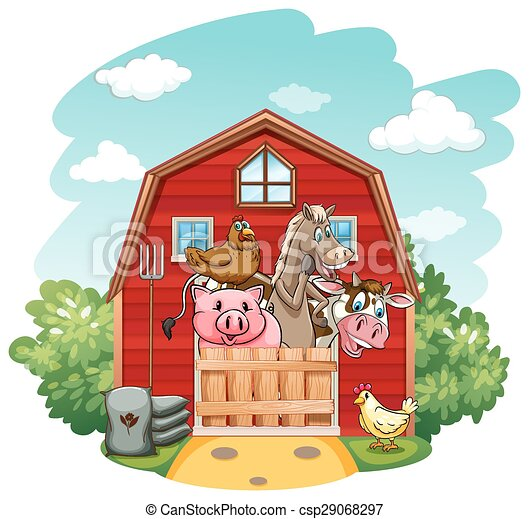 Farmhouse - csp29068297