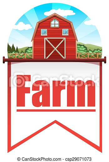 Farmhouse - csp29071073