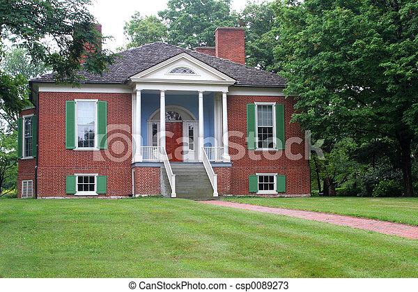 Farmington Colonial Home 2 - csp0089273