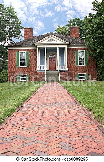 Farmington Colonial Home - csp0089295