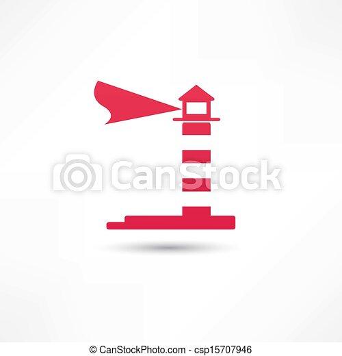 El icono del faro - csp15707946