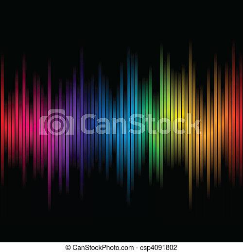 farver, regnbue, abstrakt, 2 - csp4091802