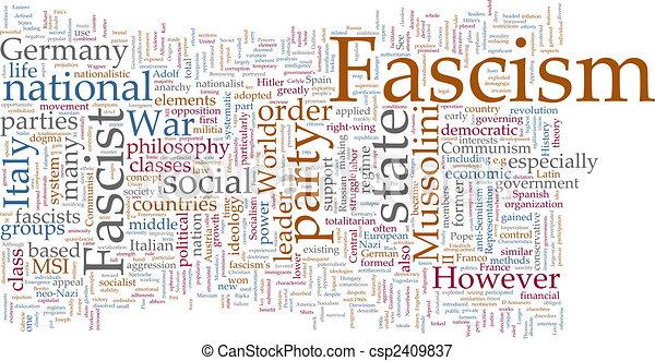 Una nube fascista - csp2409837