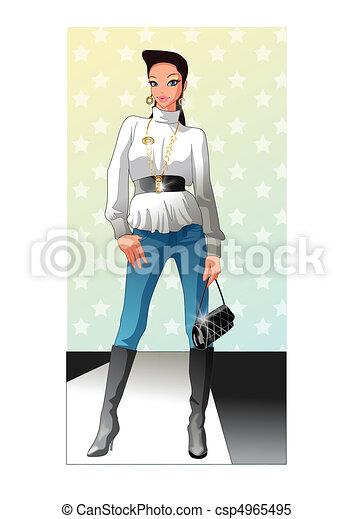 Fashion and Shopping - csp4965495