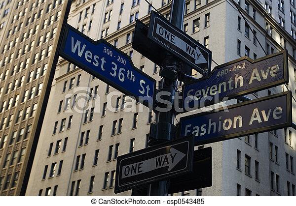 Fashion Ave - csp0543485