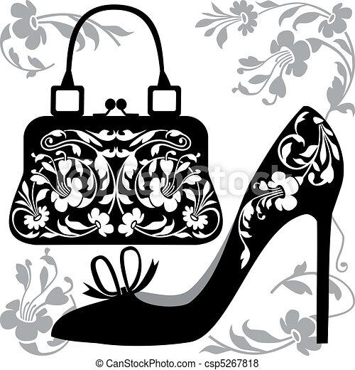 Handbag Stock Illustrations 22444 Handbag Clip Art Images And