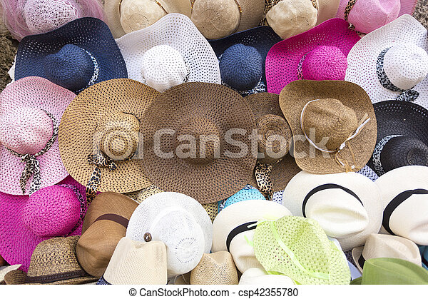 2af161c59bf20 Fashion hat shop in Colombia - csp42355780