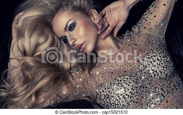 Fashion portrait  - csp15021510