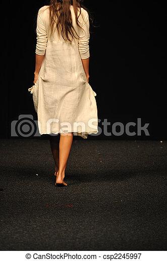 fashion show woman - csp2245997