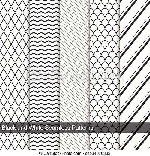 Fashion simple patterns, seamless.