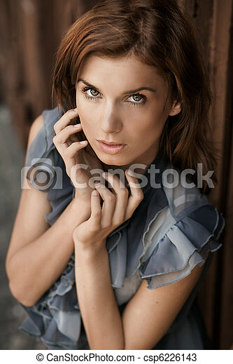 Fashion style photo of a young beauty - csp6226143