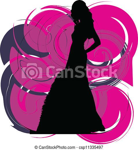 Fashion woman - csp11335497