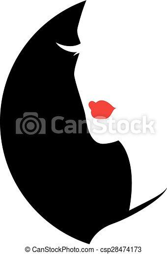 Fashion Woman Silhouette - csp28474173