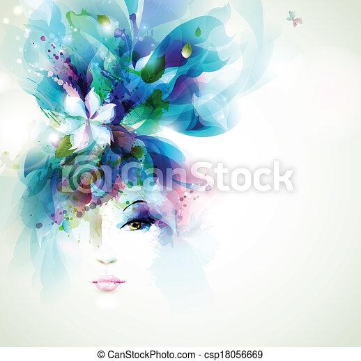 fashion women - csp18056669