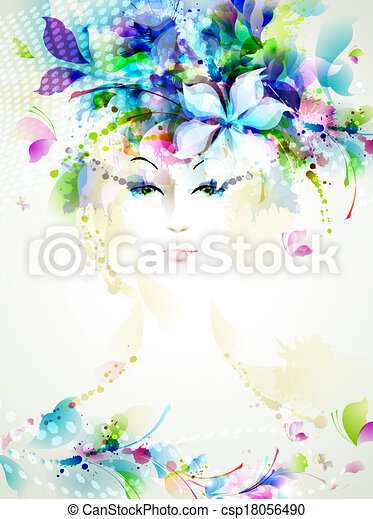 fashion women  - csp18056490