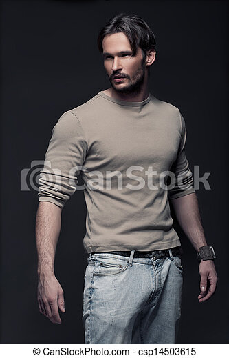 Fashionable Man  - csp14503615