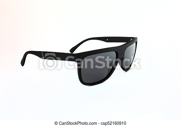 fashionable sunglasses on a white background - csp52160910