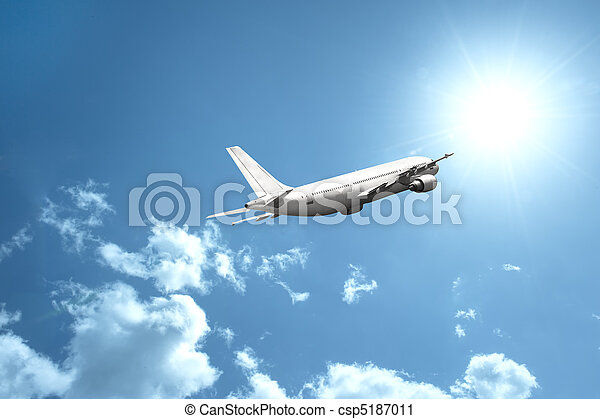 Fast airplane - csp5187011