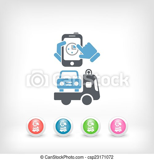 Fast car assistace vectors illustration - Search Clipart, Drawings ...