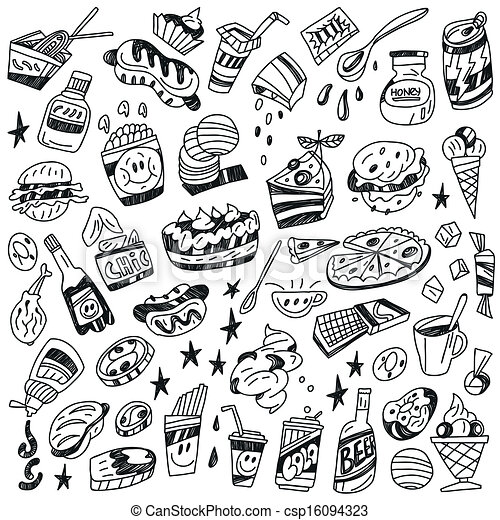 Fast Food Logos Coloring Pages