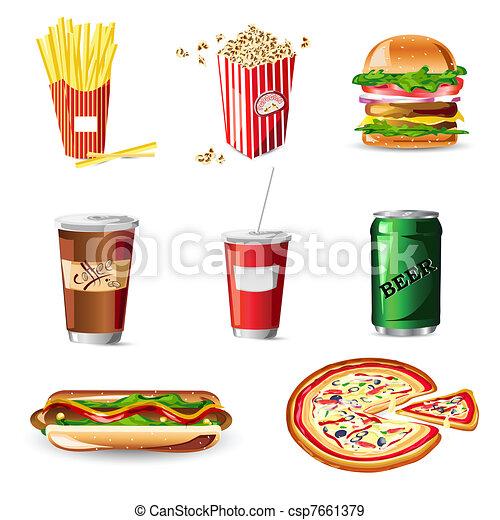 Fast Food - csp7661379