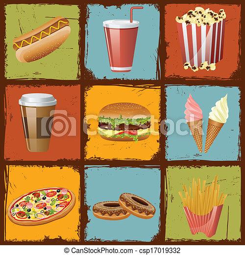 Fast Food - csp17019332