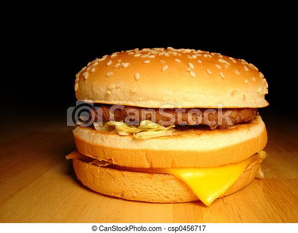 Fast Food Hamburger - csp0456717