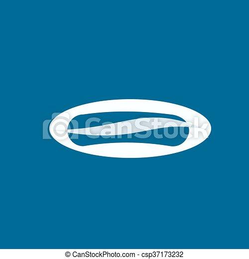 Fast food icon - csp37173232