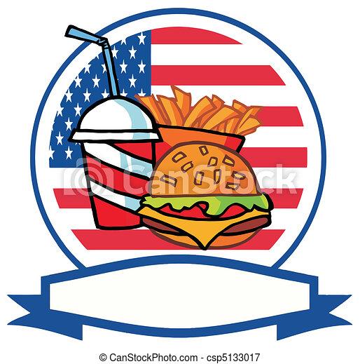 Fast Food Logo  - csp5133017