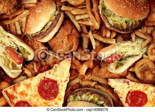 Fast Food - csp14088076