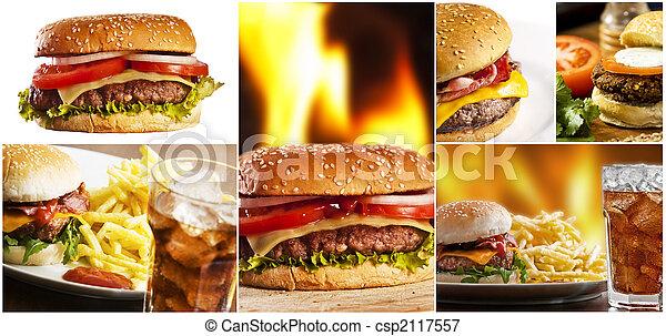 fast food - csp2117557