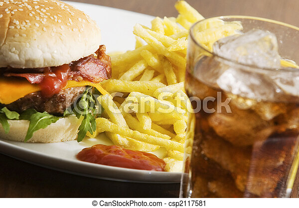 fast food - csp2117581