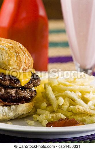 fast food - csp4450831