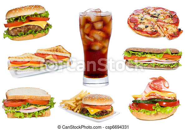 fast food - csp6694331