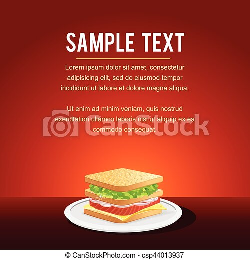 fast food restaurant menu card design template mock up with