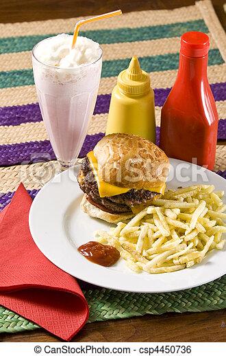 fast food - csp4450736