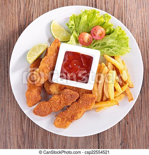 fast food - csp22554521