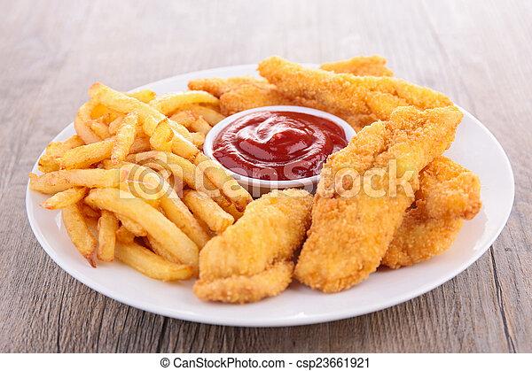 fast food - csp23661921