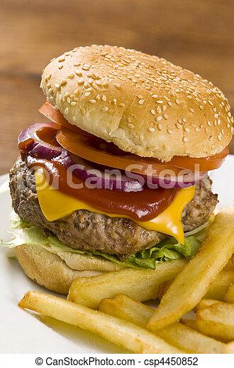 fast food - csp4450852