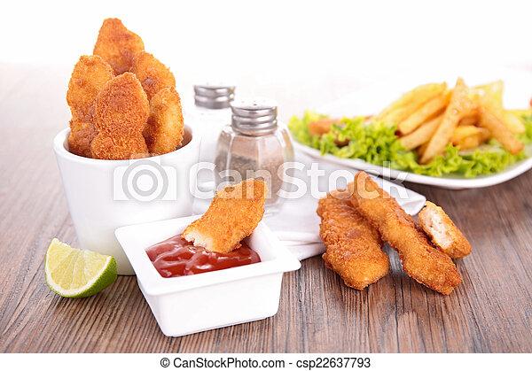fast food - csp22637793