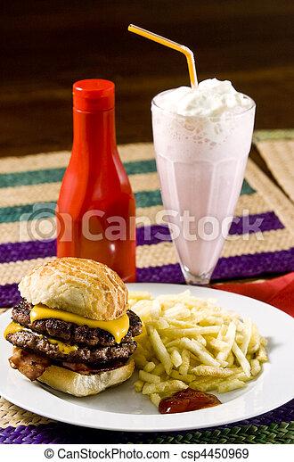 fast food - csp4450969