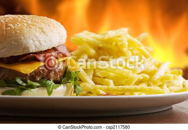 fast food - csp2117580