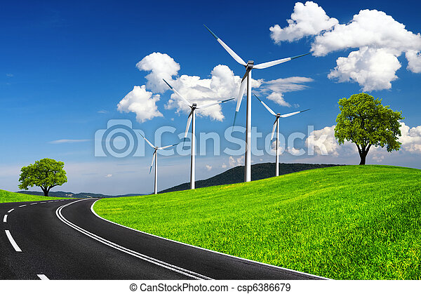 Fast road to ecological environment - csp6386679