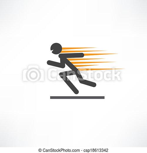 Fast runner - csp18613342