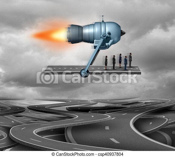 Fast Track Concept - csp40937804