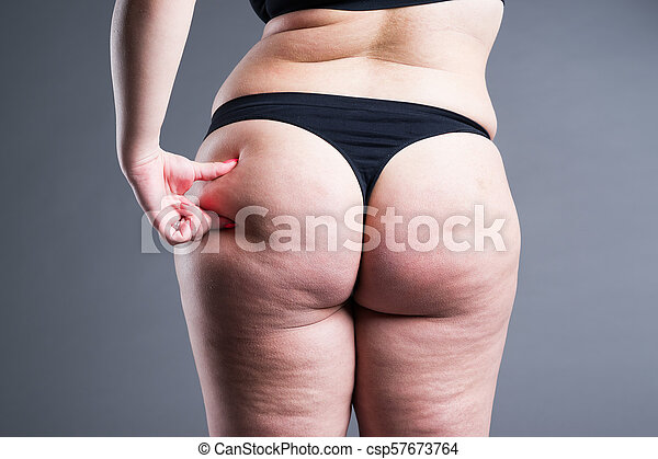 Thick cellulite ass wife